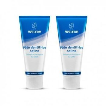 Weleda duo pate dentifrice saline 2*75ml