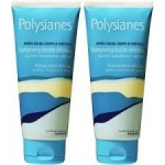 Polysianes shampooing douche au monoi lot 2x200ml