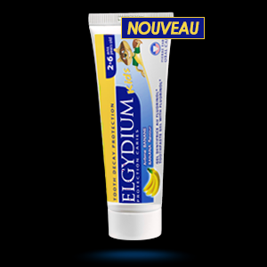 Dentifrice ELGYDIUM Protection Caries Kids 2-6 ans arome banane