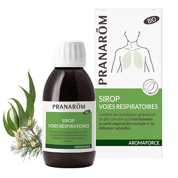 Pranarom Aromaforce respiration sirop bio 150ml