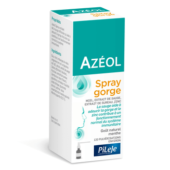 Azéol spray gorge 15ml Pileje