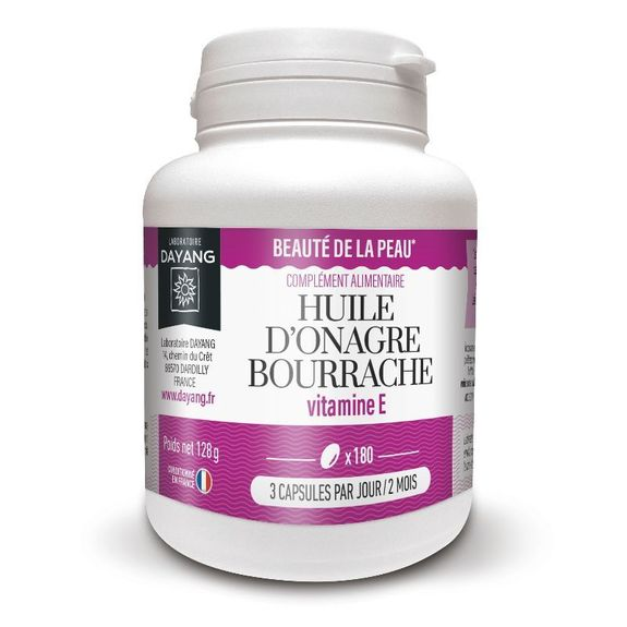 Dayang Onagre/Bourrache 180 capsules