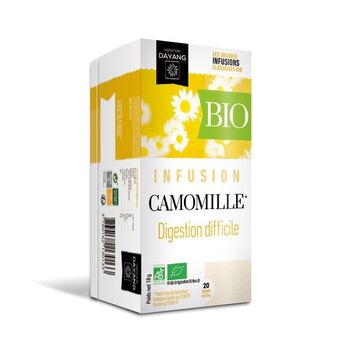 Dayang Infusion Camomille Bio 20 sachets
