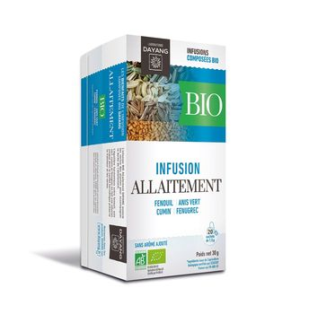 Dayang Infusion Bio Allaitement 20 sachets