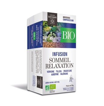 Dayang Infusion Bio Sommeil/ Relaxation 20 sachets