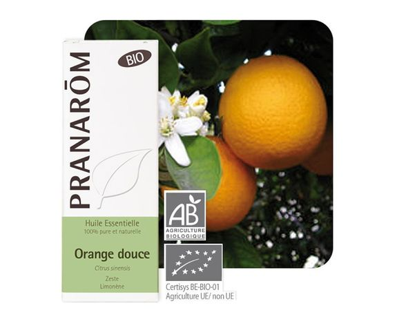 Pranarom Orange douce Bio 10ml