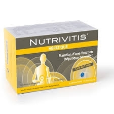 Nutrivitis Hépatique 30 sachets E-Sciences