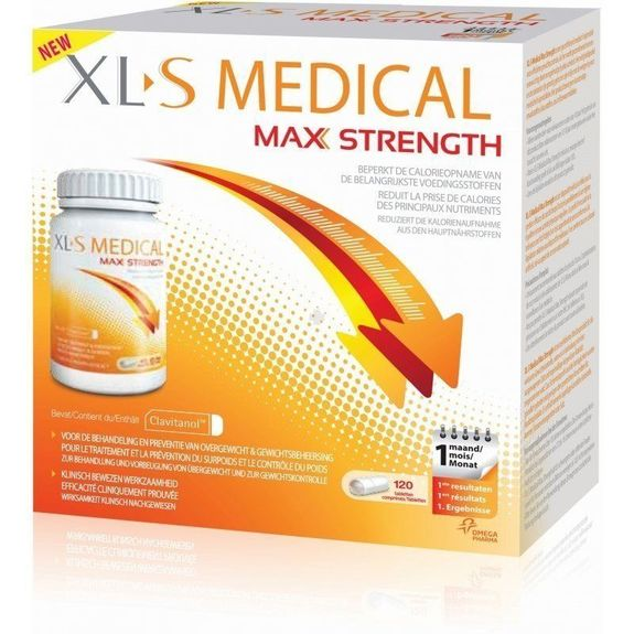 XLS Medical Extra Fort 120 Comprimés