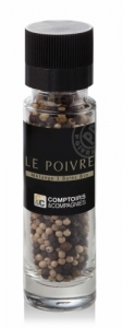 Moulin de poivres 3 baies bio 50g