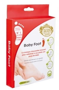 Baby foot masque chaussette