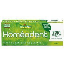 Homéodent dentifrice soin complet anis 75ml Boiron
