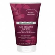 Klorane gel douche surgras figue exquise 200ml