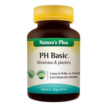 Nature's plus PH Basic 60 gélules végetales