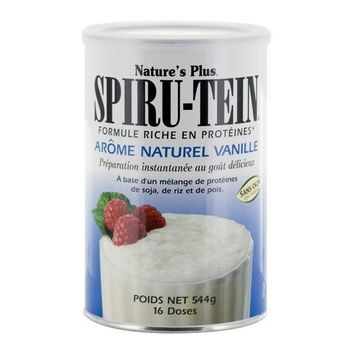 Nature's plus Spiru tein vanille pot 544g