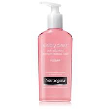 visibly clear gel nettoyant pamplemousse rose 200ml