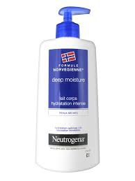 Neutrogéna lait corps hydratation intense deep moisture 400ml