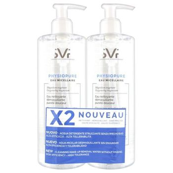 SVR Promo Physiopure Eau Micellaire lot 2x400ml