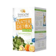 Biocyte - WATER DETOX Bien Être - 28 doses de 4g gout orange