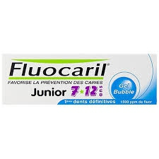 Fluocaril Dentifrice Junior 7-12 Ans Bubble 50ml