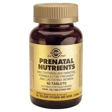 Solgar Prenatal nutrients  120 tablets