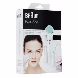 braun face 831 brosse nettoyante epilateur pour visage. Black Bedroom Furniture Sets. Home Design Ideas