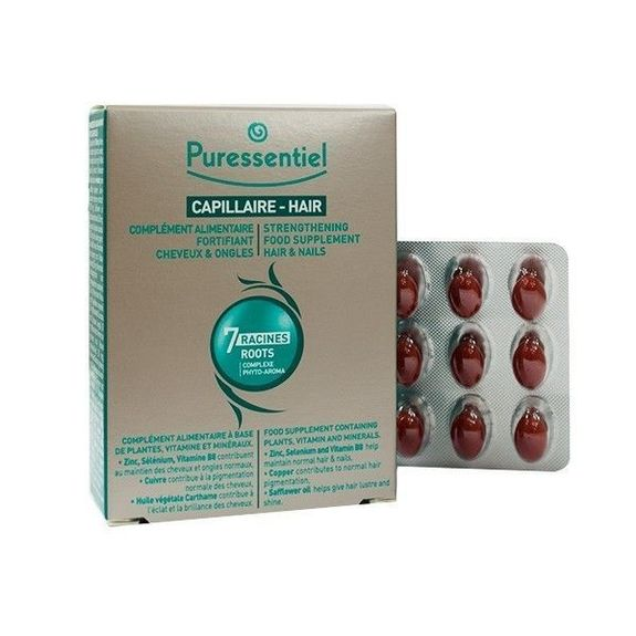 Puressentiel Fortifiant Cheveux et Ongles 30 capsules