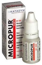 Katadyn Micropur Forte MF 1000 F,  10ml