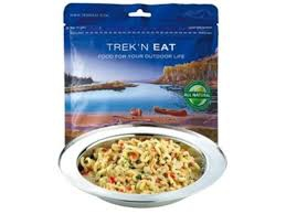 Trek'n Eat Pâtes au pesto de saumon 160g