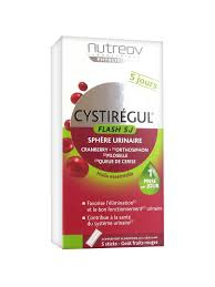 Nutreov Cystirégul Flash 5J 5 Sticks sphère urinaire