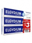Elgydium dentifrice  blancheur lot de 3x75ml