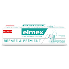 Elmex Sensitive Professional Dentifrice Répare et Protège 75ml