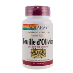 Solaray Feuille d'olivier - 250mg - 30 capsules