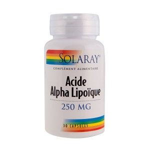 Solaray Acide alpha lipoïque 250 mg - 30 capsules