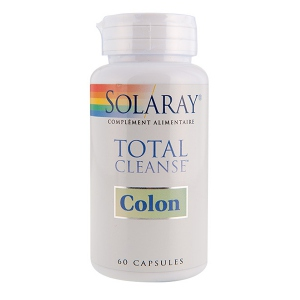 Solaray Total Cleanse Colon - 60 capsules