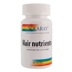 Solaray Hair Nutrients - 60 capsules