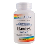 Solaray Vitamines C - 1000 mg -100 comprimés