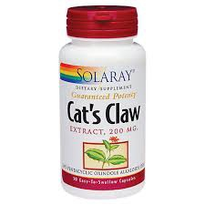 Solaray Cat's  Claw 200mg. 30caps