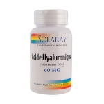 Solaray Acide Hyaluronique HD - 60mg - 30 capsules