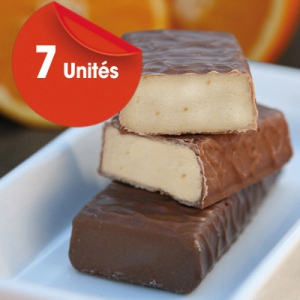 Sérovance Barre Orange Chocolat au Lait 7unités