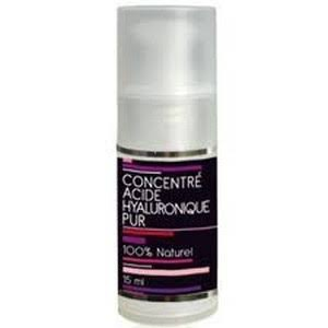 Aquasilice concentré Acide hyaluronique Pur flacon Pompe 15ml