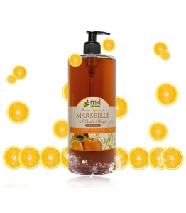 MKL Savon de Marseille Orange et Miel 500ml