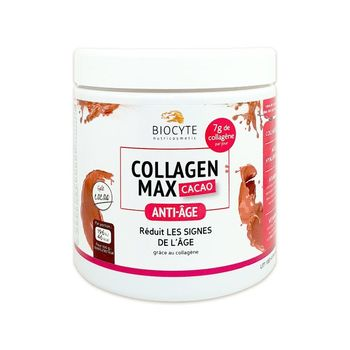 Biocyte Beauty Food Collagen Max cacao 260 g soit 20 doses