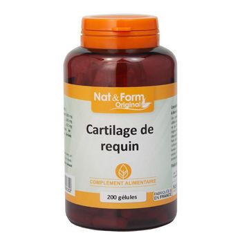Nat & Form Cartilage de requin 200 gélules