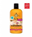 Energie fruit Gel douche & bain moussant Caramel 500ml