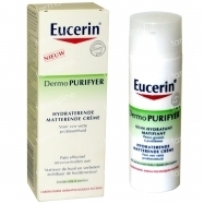 DATE COURTE Eucerin Dermo Purifyer Soin Hydrant Matifiant  50 ml