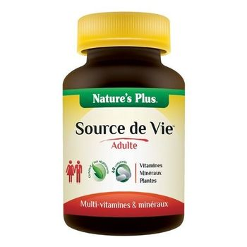Source de vie adulte Adultes NATURE'S PLUS 90 comp