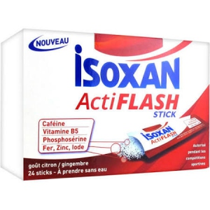 Isoxan actiflash - 24 Sticks Citron