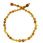 Baltic way Collier ambre honey  bille - clip