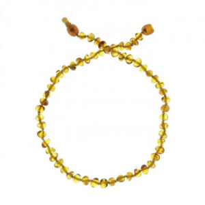 Baltic way Collier ambre honey light   bille - clip
