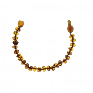 Baltic way bracelet ambre cognac bille clip
